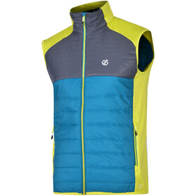 Dare 2b Coordinate Vest Herrer, ocean depths/ebony grey/citron lime